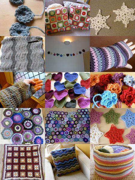 Crochet collage
