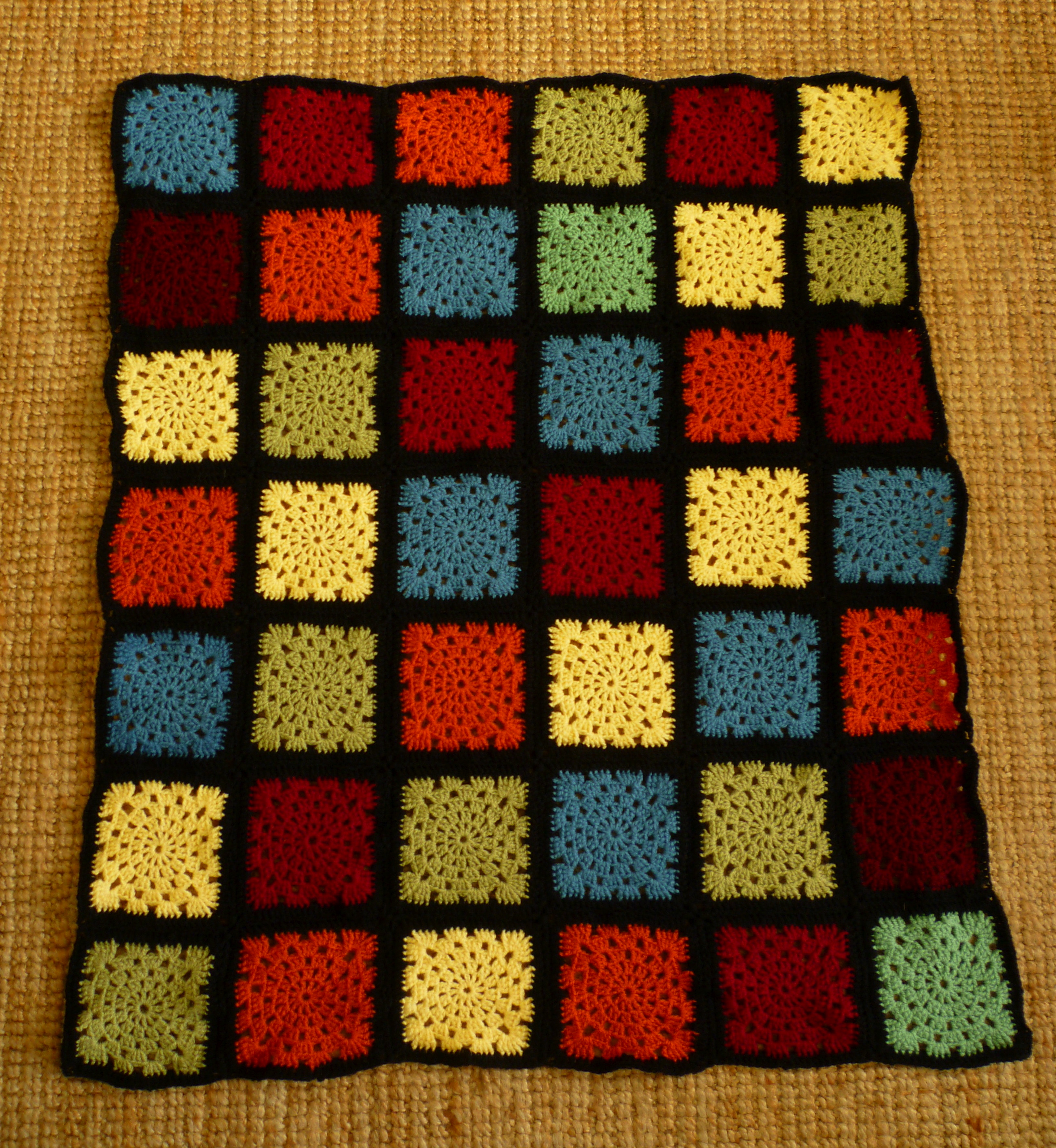 Miss Maries Miscellany Toms Stained Glass Blanket